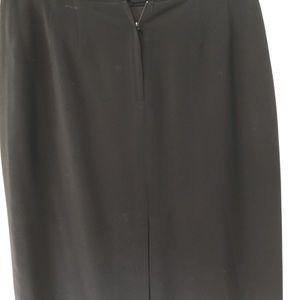Skirts - Black pencil skirt - fully lined